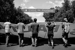 IMG_2989 (Galiaheris) Tags: students mexico justice zacatecas dontforget justicia reallife realpeople 1yearlater ayotzinapa therealmexico thisismexico estudiantesdesaparecidos 43estudiantes