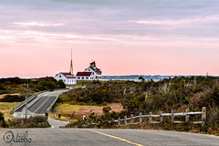 Coast Guard Station Cape Cod (dizbosphotos) Tags: morning sunrise capecod hill coastguardstation