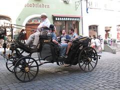 20150707 Rothenburg ob der Tauber (greger.ravik) Tags: road old beautiful car germany bayern medieval romantic veteran stad ansbach veteranbil romantische medeltid strase vgen korsvirke romantiska tyskland2015
