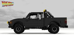 Toyota Hilux 4x4 Pickup (Back to the Future I & II) (lego911) Tags: auto birthday brown film car movie back model october lego offroad 4x4 33 jennifer render bttf 21st 4wd utility pickup 80s future toyota scifi doc 1980s 1985 marty challenge 8th backtothefuture cad lugnuts 96 povray moc hilux ldd 2015 sizematters miniland yourclaimtofame lego911 mcflay happycrazyeighthbirthdaylugnuts