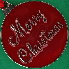 Merry Christmas (Leo Reynolds) Tags: squaredcircle christmas xmas medallion xleol30x sqset123 canon eos 40d xx2015xx sqset