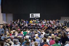 Dani Miquel i la banda jove de la Unió Musical de Bocairent