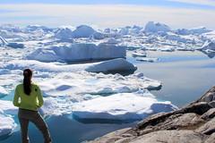 Facing the Incredible Icefjord of Ilulissat (#250 in Explore 2016-09-23) (twiga269  FEMEN #JeSuisCharlie) Tags: twiga269 om  whatareyoutrainingfor gettingstrongereveryday wanderlust wilderness mountainwilderness mw gngl grandnordgrandlarge gro023 iceisbeautiful 70n 70north greenland kalaallit nunaat kalaallitnunaat disko bay baiededisko diskobugten iceberg ilulissat qeqertaq saqqaq groenland grnland groenlandia grnland grenlandia   kayak ice hielo glace glacier immense gletscher ericchazal arctic diskoline inlandsis torssukatak kangilerngata kangilerngatasermia eqi eqip sermia smallesund