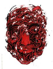 (gri/gri) Tags: face acryl mixedmedia