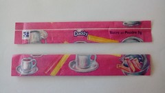 Srie Daddy Petit djeuner pastel 01 (periglycophile) Tags: priglycophilie sucrology sugar packet stick france daddy srie series petit djeuner pastel sucr bchette