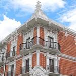 Casa de alfeñique fachada