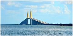 Sunshine Skyway Bridge - St Petersburg, FloridaC_9793 (lagergrenjan) Tags: sunshine skyway bridge st petersburg florida