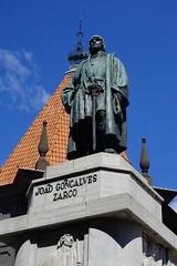 Zarco! (adamfrunski) Tags: funchal madeira portugal statue