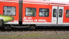 Graffiti Derdy (Honig&Teer) Tags: graffiti honigteer hildesheim streetart spraycanart sport sbahn steel hauptbahnhof eisenbahngraffiti railroadgraffiti train treno trackside traingraffiti trainart