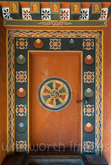 Inside Trongsa Dzong (whitworth images) Tags: painted administration building buddhist large himalaya himalayas intricate bhutan enormous culture buddhism interior travel decorated ancient symbolism historic inside dzong wooden orange door old government red monastery symbol stone religious huge asia religion architecture trongsa fortress trongsadzong heavy traditional