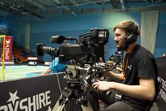 NBLmatch-5100-0272 (University of Derby) Tags: 5100 badminton nbl sportscentre universityofderby match