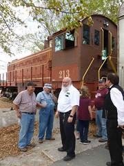 The crew (Jer*ry) Tags: train railroad excursion ride northalabamarailroadmuseum vintage antique preservation crew volunteers locomotive