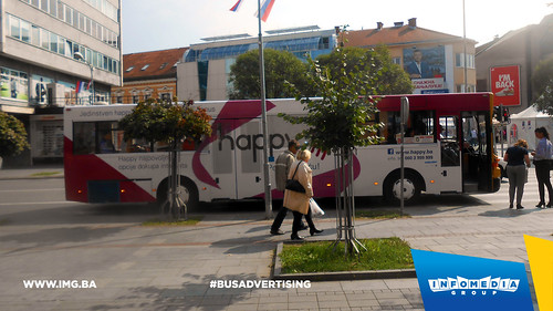 Info Media Group - BH Telecom Happy, BUS Outdoor Advertising, 09-2016 (7)