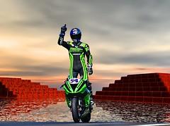 KAWASAKI (driver Photographer) Tags:   aprilia cagiva honda kawasaki husqvarna ktm simson suzuki yamaha ducati daytona buell motoguzzi triumph bmv driver motorcycle leathers dainese