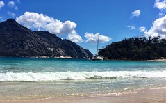 Wineglass Bay. At anchor.