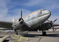 "N74173 Curtiss C-46A Commando 'Yanks Air Museum"" (Keith B Pics) Tags: n74173 c46 commando curtiss richinternational chino yanksairmuseum n5134b 4347218 pw r2800 museum storage"