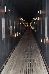 The Steilneset Memorial, Vardø - Interior (3) (Phil Masters) Tags: vardo norwayholiday norway july2016 19thjuly vardø steilnesetmemorial steilneset memorial peterzumthor installationart