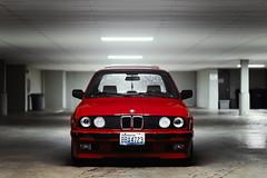 BMW E30 325i (Tom Leers) Tags: bmw e30 80s nikon d750 sigma 35mm art natural seattle garage washington 3 series 325