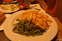 French cuisine (RSK.2016) Tags: food french paris france europe stilllife foodindustry lunch fries beans plate travel places explore experience cuisine frenchcuisine green yellow colorful colors yummy