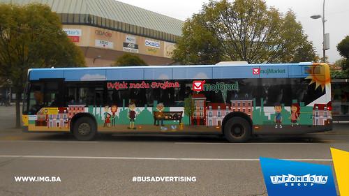 Info Media Group - Moj Market, BUS Outdoor Advertising, Banja Luka 10-2016 (1)