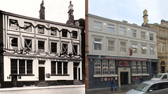 Fenwick Street 1930s and 2016 (Keithjones84) Tags: liverpool oldliverpool thenandnow history localhistory merseyside rephotography