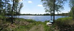 Bjrsj, Mstocka, 2009 (biketommy999) Tags: 2009 halland lake panorama photoshop sj