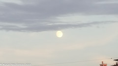 2016.08.16; Keyport Moonrise & Sunset-8 (FOTOGRAFIA.Nelo.Esteves) Tags: keyport newjersey unitedstates us 2016 neloesteves samsung note5 usa nj monmouthcounty bayshore waterfront moonrise sunset moon sky august summer