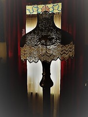 THE ANTIQUE LAMP AND THE LIGHT (Visual Images1) Tags: antique lamp hss slidersunday