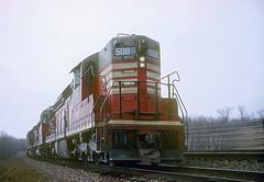 CB&Q SD24 508 (Chuck Zeiler) Tags: cbq sd24 508 burlington railroad emd locomotive naperrville train chz
