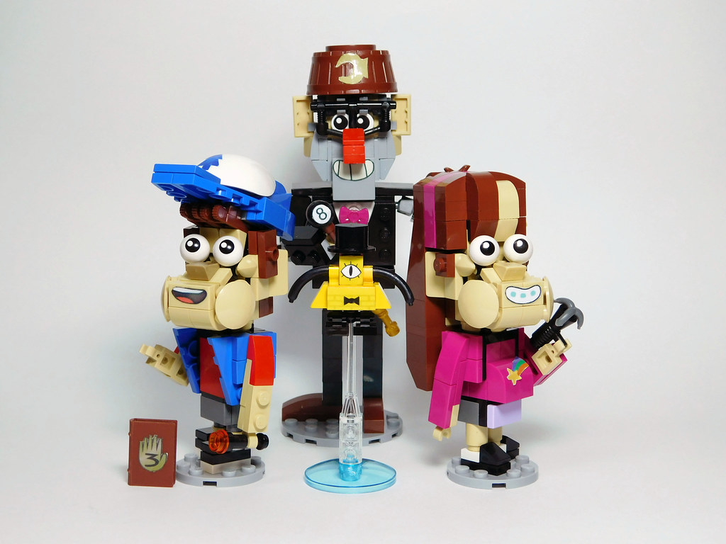 lego gravity falls bill the image kid has it. Black Bedroom Furniture Sets. Home Design Ideas