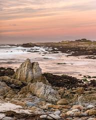 Asilomar Glow (59roadking - Jim Johnston) Tags: ifttt 500px asilomar california ocean beach sea sunset water pacific grove monterey travel seascape county sky clouds rocks waves coast