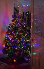 It's Beginning to Look a Lot like Christmas (Jainbow) Tags: christmas lights home livingroom multicoloured baubles jainbow