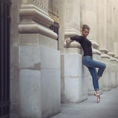 (dimitryroulland) Tags: nikon d600 85mm 18 dimitry roulland dance dancer ballet ballerina urban street city natural light paris france performer art