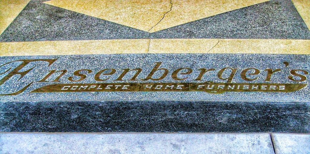 Bloomington Illinois ~ Ensenberger Condominiums ~Aka ~ G.A. Ensenberger Furniture  Store (Onasill ~ Bill