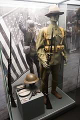 WWI American infantry uniform