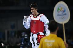 COMPETENCIAS DE TAEKWONDO (skyrosredes) Tags: sport taekwondo sportsevents summerolympics rodejaneiro brasil