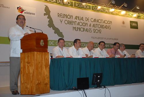 El gobernador Javier Duarte de Ochoa asistió a la Firma de Convenio de Colaboración Administrativa entre el ORFIS y la SEFIPLAN 3