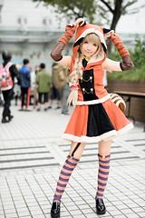 Minami Kotori (hokkeiv) Tags: nikon d810 fx nikkor 58mm f14g cosplay portrait   2016
