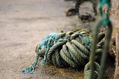 Marine Rope (YellowSingle ) Tags: rope marine knot harbor old biarritz atlantic ocean nikon d3