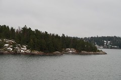 Trip to Stockholm (katrinterras) Tags: stockholm photography trip travel sea fog winter sweden island