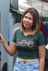pretty woman (the foreign photographer - ) Tags: may142016nikon pretty woman gateway belly button khlong bang bua portraits bangkhen bangkok thailand nikon d3200