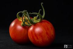 Stripy Tomato (philrdjones) Tags: 2016 growyourown homegrown plant stripy tomato