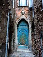 Venetian house entrance