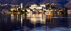 Lakescape (eleonoralbasi) Tags: lakescape landscape italy italia beautiful romance reflections lake view panorama outdoor island travel nature