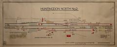 Huntingdon North No 2 (P Way Owen) Tags: huntingdon north no 2 signalbox diagram