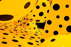 This was fun :) (eserehtM) Tags: dotsobsession yayoikusama mona hobart tasmania gallery art installation yellow dots spots inflatables mirrors ontheoriginofart exhibition