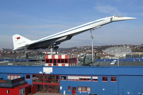 Tupolev Tu-144 at Sinsheim Auto & Technik Museum, 21.02.2012.