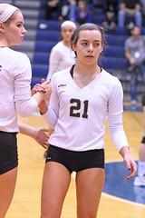 IMG_8058 (SJH Foto) Tags: girls volleyball high school york delone catholic team teen teenager substitution sub rotation