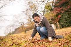 Japanese woman playing with autumn leaves (Apricot Cafe) Tags: sigma35mmf14dghsmart img8803 asianethnicity japan japaneseethnicity autumn autumnleaves beautyinnature change charming cheerful enjoying foliage freshness happiness hope japanesefallfoliage japanesemaple leaves mapleleaf nature oneperson onlywomen outdoors people refreshing selectivefocus tranquility traveldestinations walking woman youngadult
