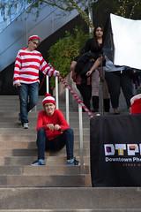 1612 Where's Waldo flashmob47 (nooccar) Tags: dtphx 1612 improvaz dec2016 nooccar cityscape devonchristopheradams whereswaldo contactmeforusage devoncadams dontstealart flashmob photobydevonchristopheradams